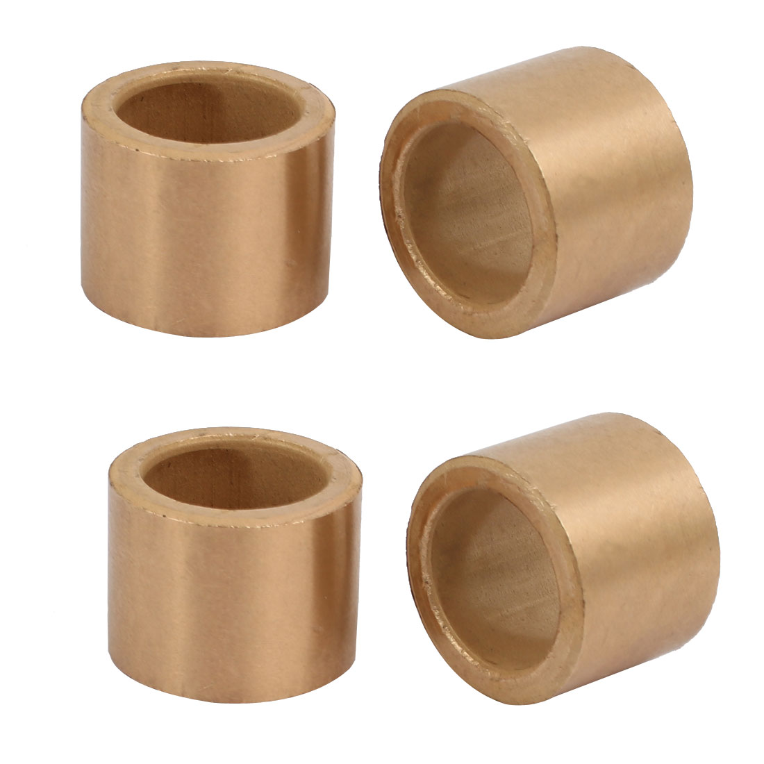 Unique Bargains 20mmx28mmx22mm Powdered Metal Bronze Sleeve Bearing Bushing 4pcs