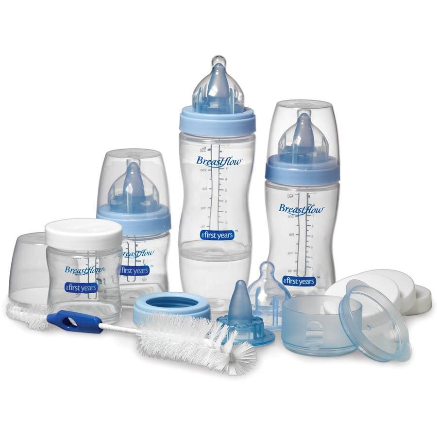 The First Years - Breastflow Bottle Starter Set, BPA Free