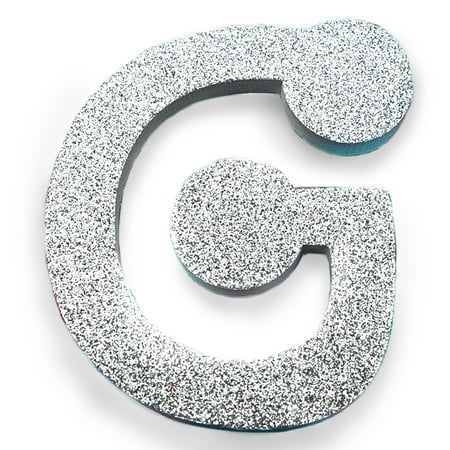 Large Glitter Foam Letter G by Horizon Group - Big Foam Letters
