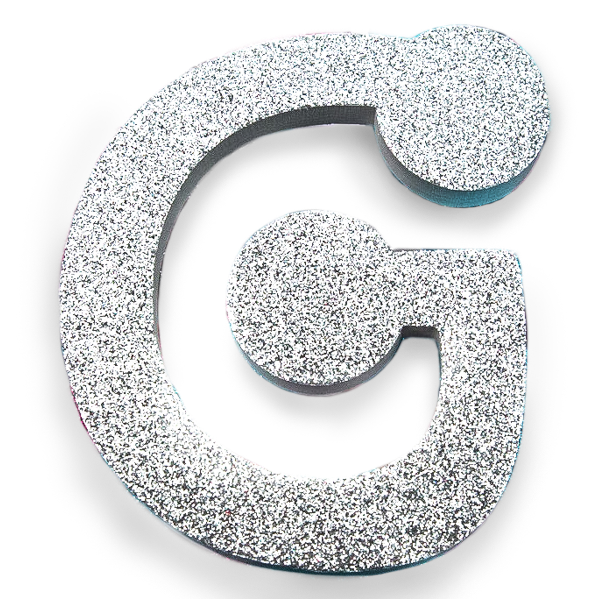 Large Glitter Foam Letter G by Horizon Group USA
