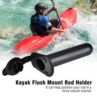 Kayak Boat Rod Holder with Cap Cover Gasket Kayak Canoe Accessories, Canoe Accessories,Kayak Rod Holder