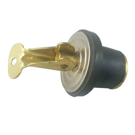 White Water 54197 Baitwell Drain Plug, 1/2