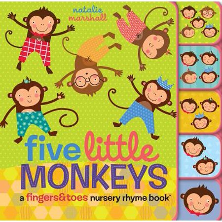 5 Little Monkeys A Fingers and Toes Nur (Board (Wearing A Ring On Your Little Finger)