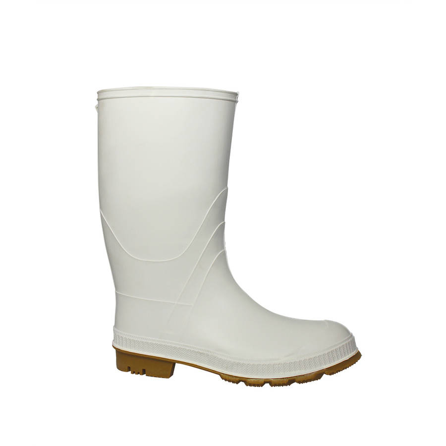 Boys' White Shrimper Rain Boot