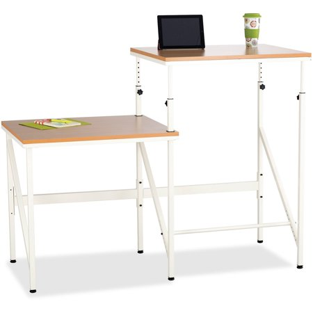Safco, Bi-Level Stand/Sit Desk, 1 Each