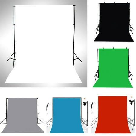 3x5FT Thin Vinyl Photography Backdrops Photo Studio Props Background Solid Color Dark Red Background