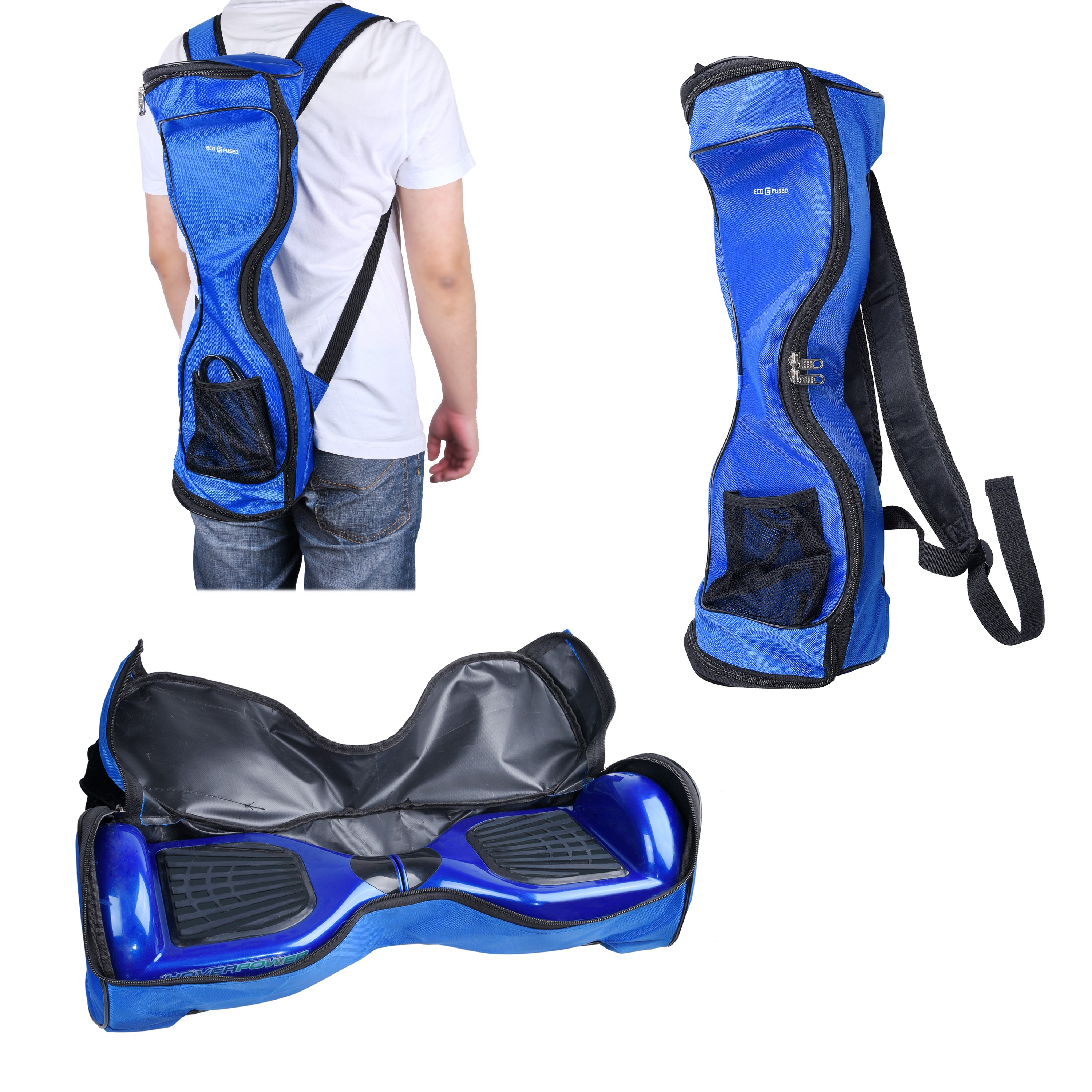 Hoverboard Waterproof Backpack to Carry and Store your Drifting Board (Two Wheels Smart Balance Board Scooter Electric... by Eco-Fused