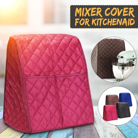 "Home Kitchen Food Dust Cover For Kitchen Aid Mixer Cover Black/Coffee/Red/Blue 12.6X14.7X15.7"" - image 7 de 7"