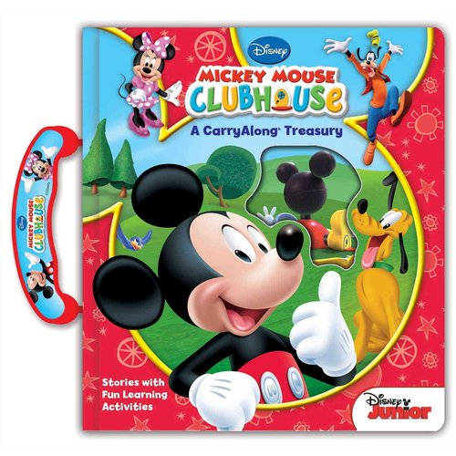 Disney's Mickey Mouse Clubhouse Carryalong Treasury: A Collection of Stories With Fun Learning Activities