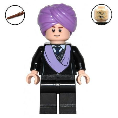 Brick Building Sets Original LEGO® Figure: Harry Potter Figure - Professor Quirinus Quirrell (w/ Wand)