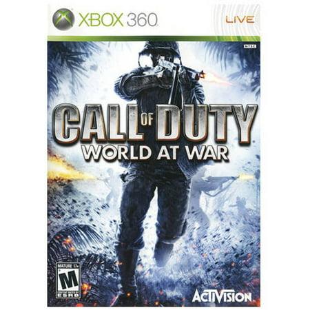 Activision Call Of Duty: World At War (Xbox 360) -