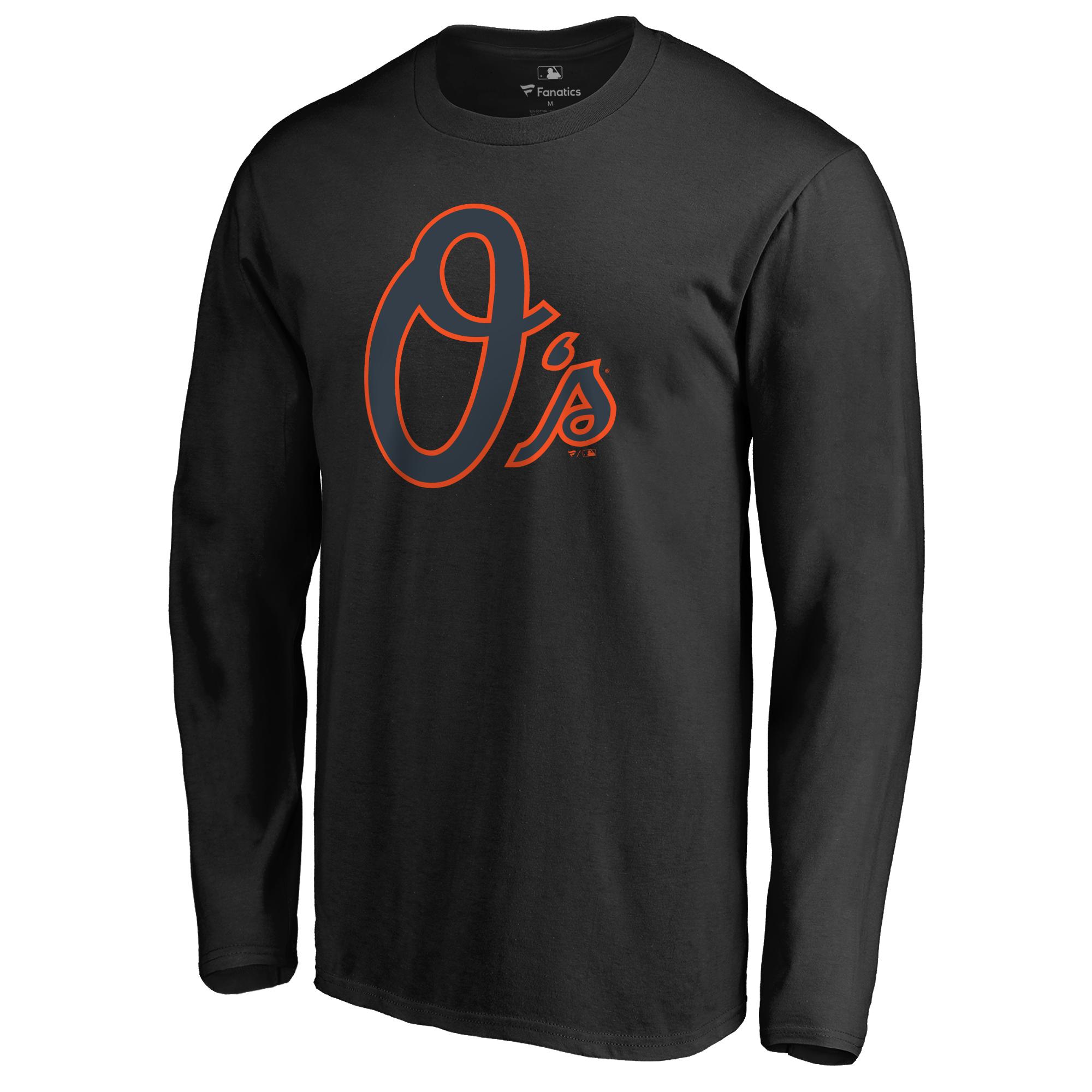 Baltimore Orioles Taylor Long Sleeve T-Shirt - Black