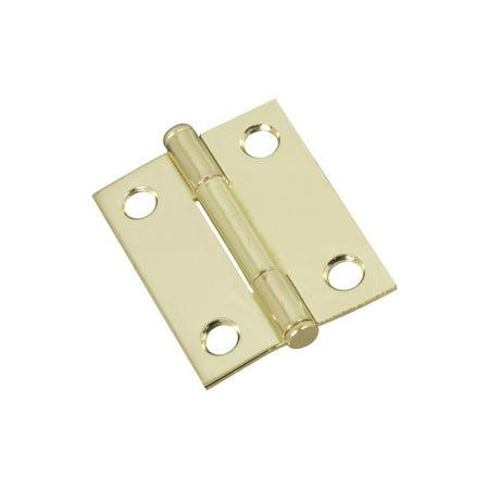 Stanley N146 639 2 in Brass Cabinet Hinge 2 Pack