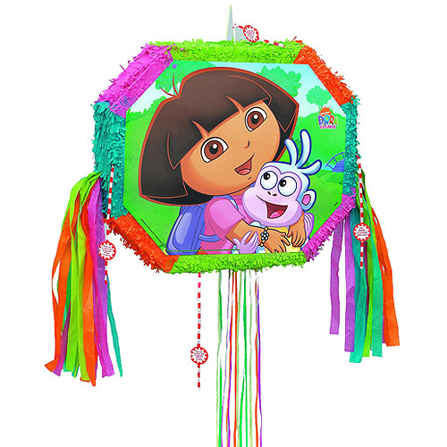 Dora the Explorer Pinata, Pull String