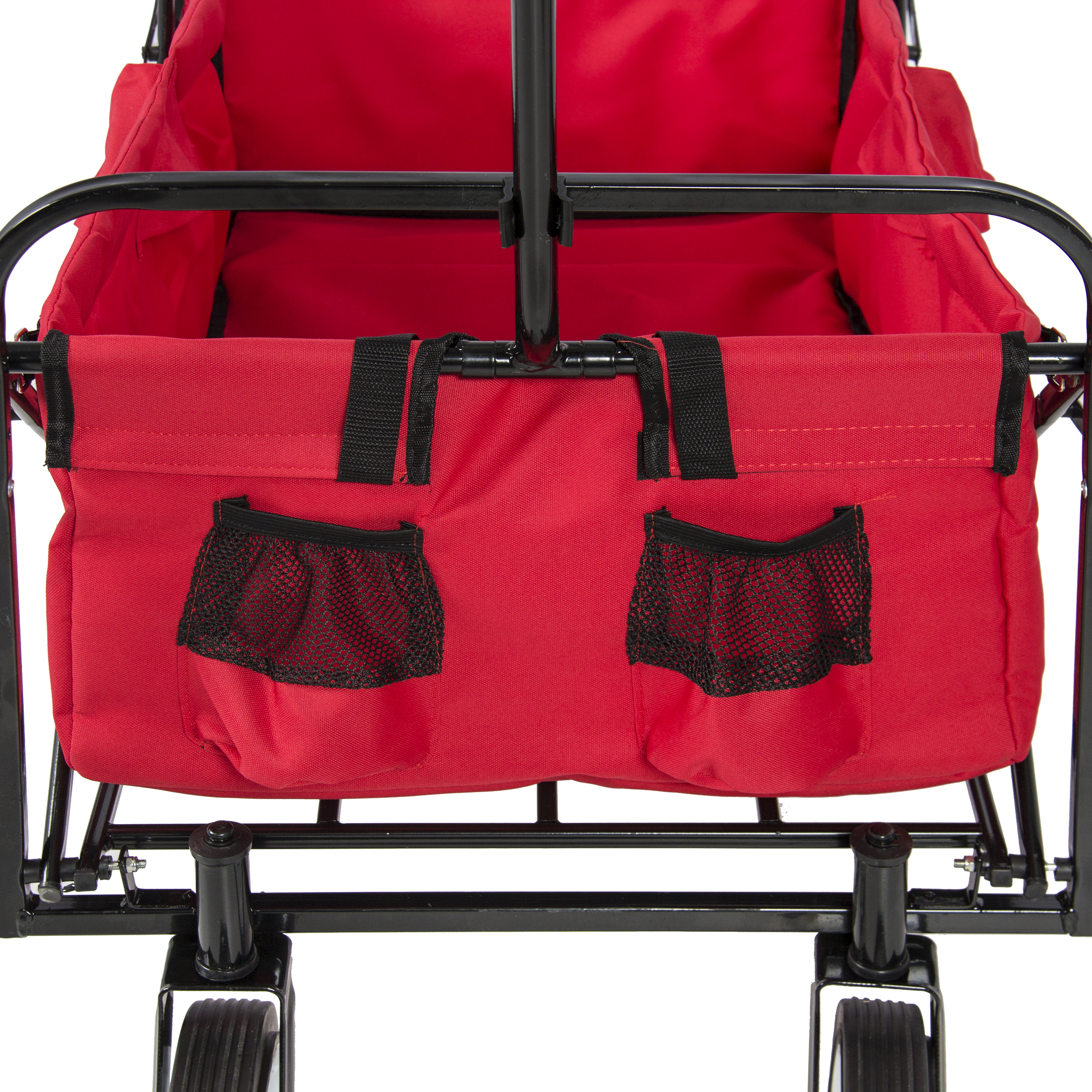 Best Choice Products Folding Utility Cargo Wagon Cart For Beach
