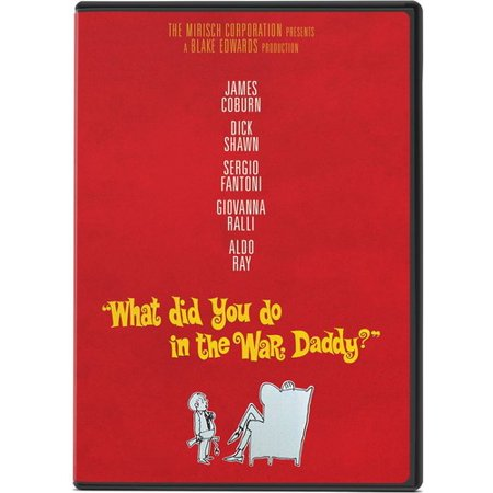 What Did You Do in the War, Daddy? (DVD) ()