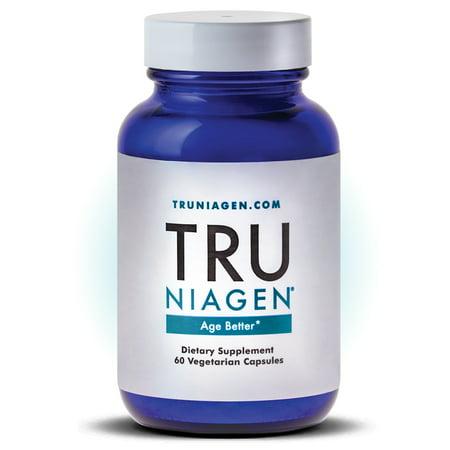 TRU NIAGEN – Nicotinamide Riboside NR, Advanced NAD Supplement - Vitamin B3 - Vegetarian Capsules - Developed by ChromaDex (True Self Organics)