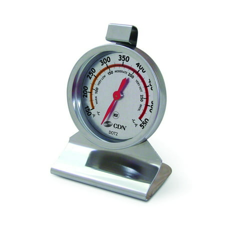 CDN DOT2 ProAccurate Stainless Steel Large Dial Oven Thermometer