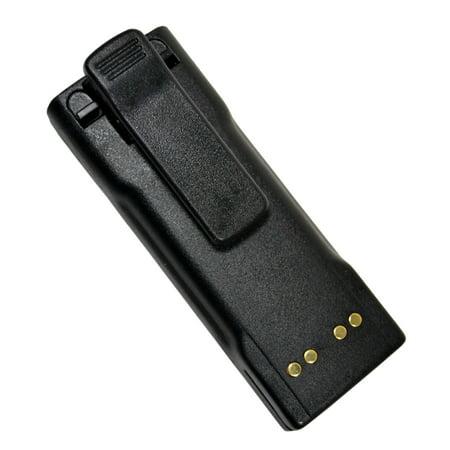 HQRP TWO Batteries for Motorola GP900, GP1200, GP2010, GP2013, HT1000, WPNN4013, HNN9028 + HQRP Coaster - image 2 de 3