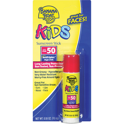 Banana Boat Kids SPF 50 Sunscreen Stick, .55 oz