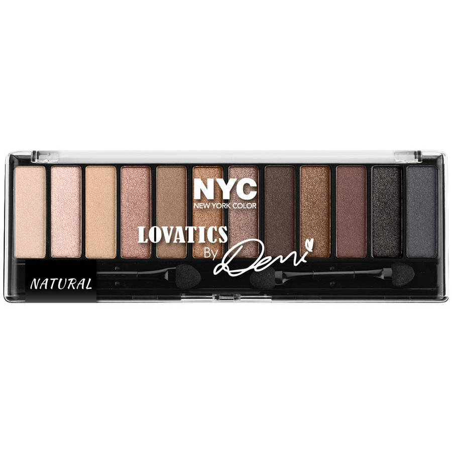 NYC New York Color Lovatics By Demi Eye Shadow Kit Compact, 0.50 oz