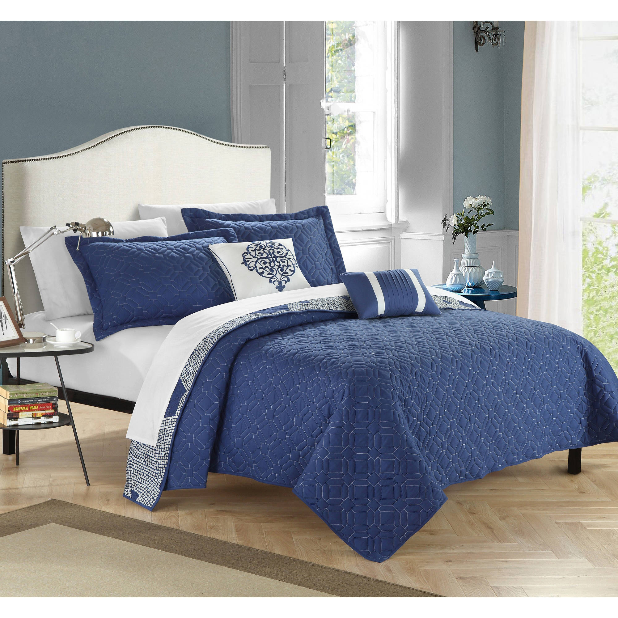 Chic Home Pandora 5 Piece Quilt Set