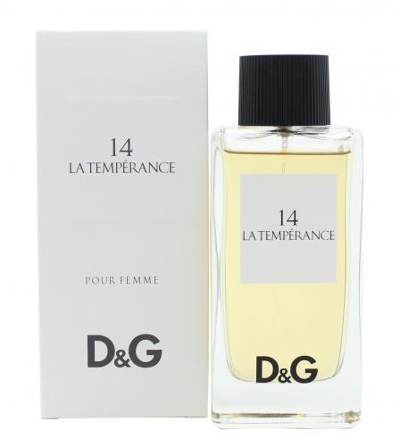 LA TEMPERANCE 14 by DOLCE & GABBANA ~ Women's Eau de Toilette Spray 3.3 oz