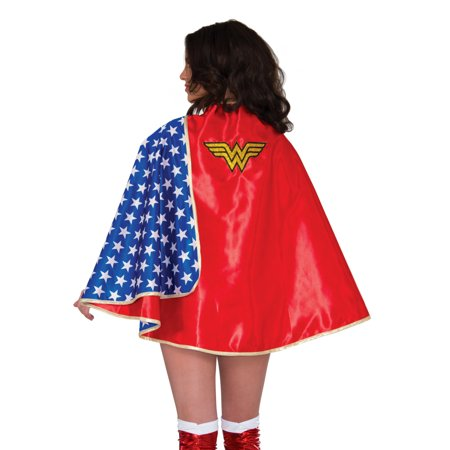 Adult's Deluxe Classic Superhero Wonder Woman Cape Costume Accessory