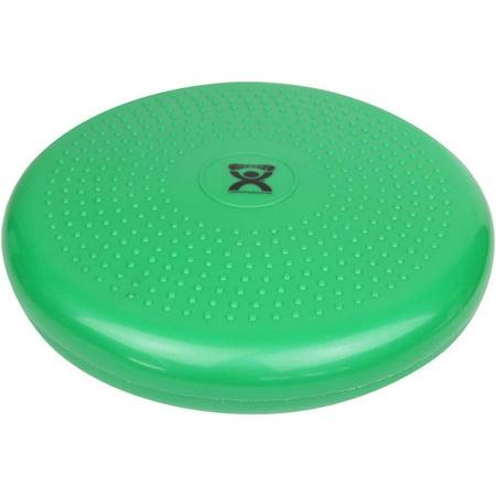 CanDo Inflatable Vestibular Disc, Green, 14