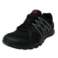 Reebok Men's Yourflex Train 8.0 Black / Ash Grey Ankle-High Training Shoes - 11M