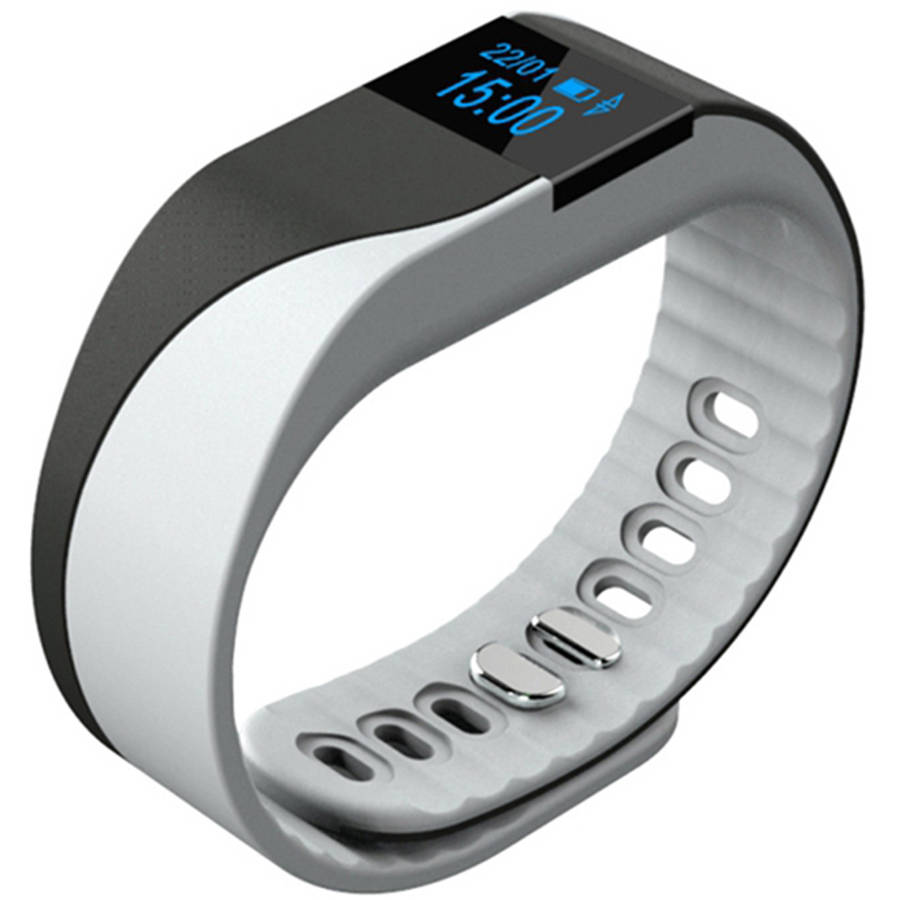 Bluetooth Fitness Activity Tracker with Heart Rate Monitor