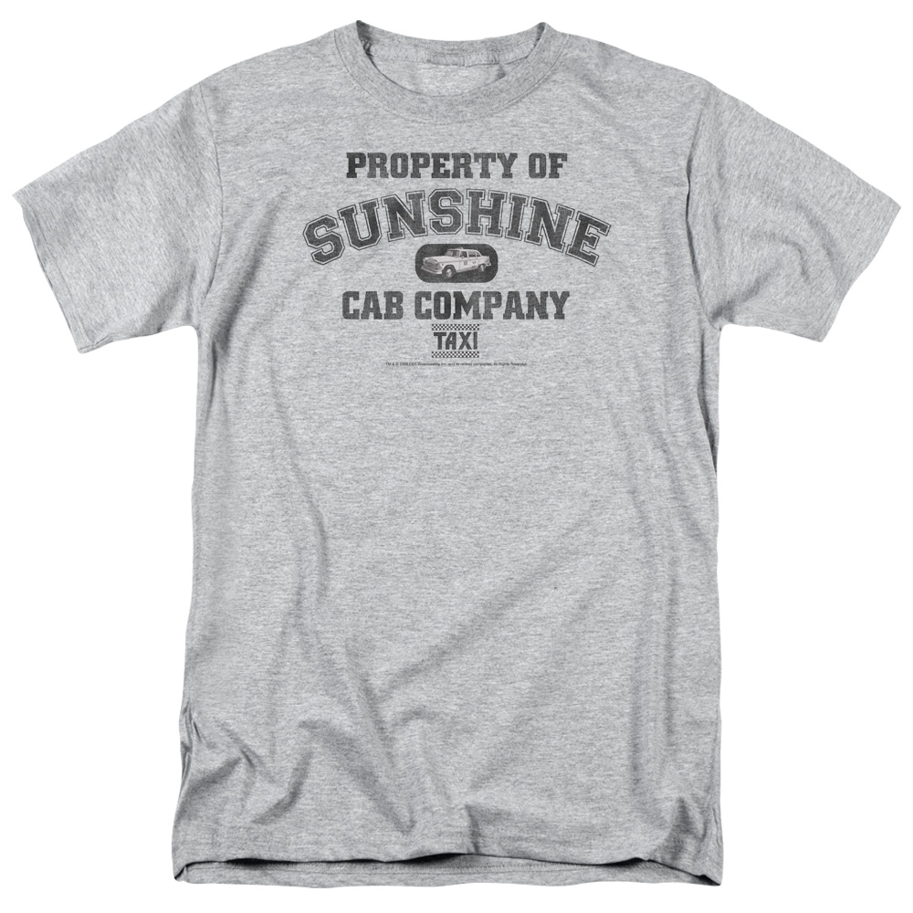 Taxi Property Of Sunshine Cab Mens Short Sleeve Shirt