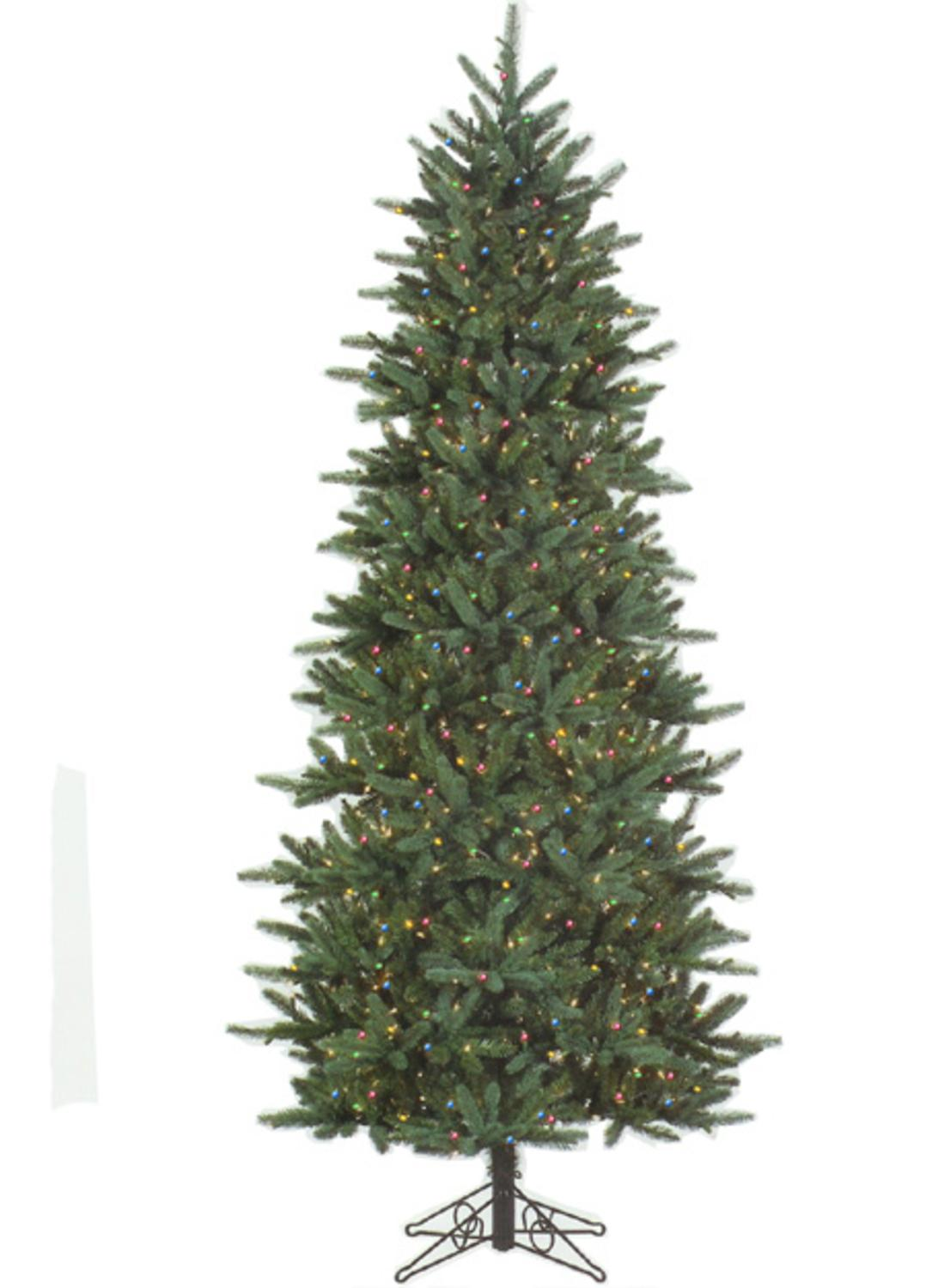 7.5' Slim Fresh Cut Carolina Frasier Artificial Christmas Tree ...