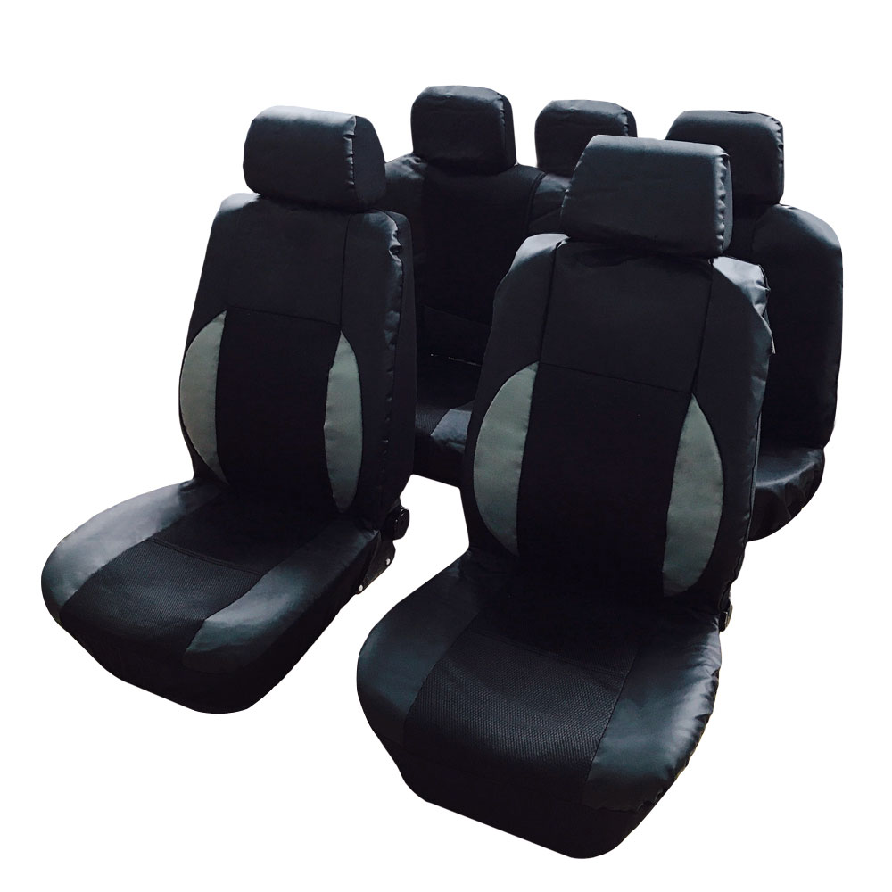 Ktaxon Fit 4 Seasons Universal Black Breathable Mesh Solid Car Seat Covers