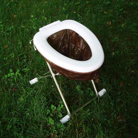 The Portable Camping Travel Toilet