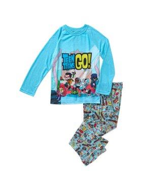 Boy's Justice League Cyborg 2 Piece Pajama Sleep Set (Big Boys & Little Boys)