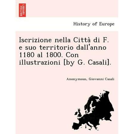 Iscrizione Nella Citta Di F E Suo Territorio Dallanno 1180 Al 1800