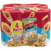 (2 Pack) Campbell's SpaghettiOs� Original, 15.8 oz, 4 Pack