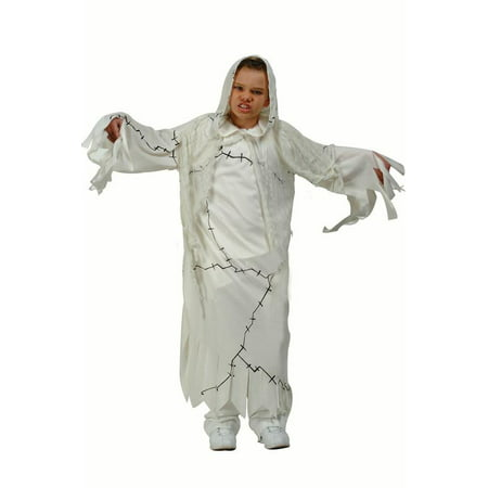 Cool Ghost Child Costume - Ghost Kids Costume