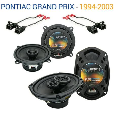 Pontiac Grand Prix 1994-2003 OEM Speaker Upgrade Harmony R5 R69 Package New (Pontiac Grand Prix Speakers)