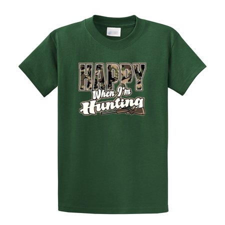 Hunting T-Shirt Happy When I'm