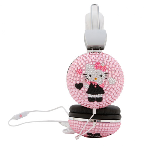 Hello Kitty Bling Headphones