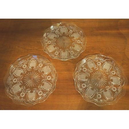 Serving Platter Clear Plastic 14
