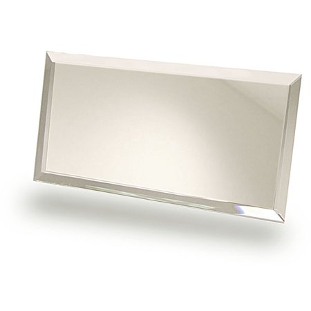 Rectangular Mirror Is Ideal As a Display Base or Craft Accessory (Pkg/6) - Mirror Craft