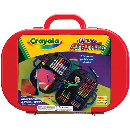 Ultimate Art Studio crayola ultimate art supply kit - walmart