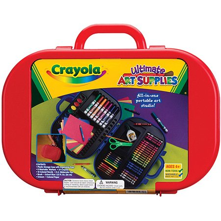 crayola ultimate art supply kit. Black Bedroom Furniture Sets. Home Design Ideas