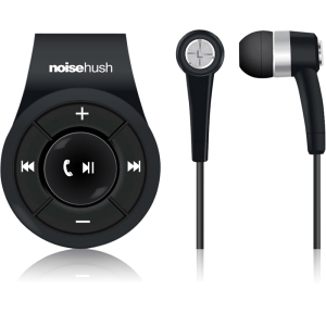 NoiseHush NS560 Clip-on Bluetooth Stereo Headset - Blue