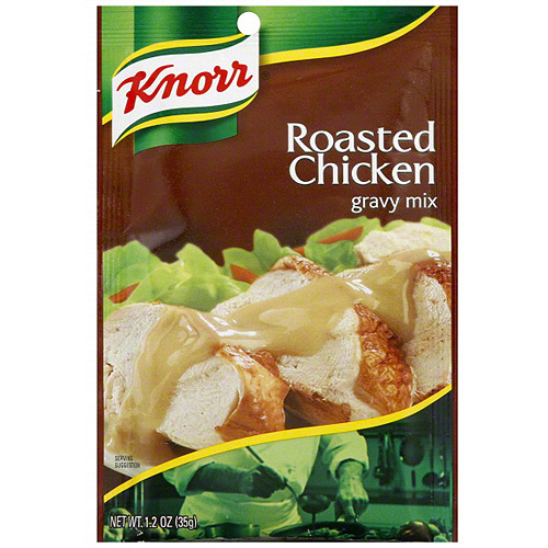 Knorr Roasted Chicken Gravy Mix, 1.2 oz (Pack of 12)