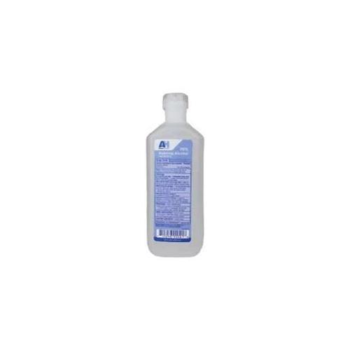 Aaron Health AH-90002H-24 Rubbing Alcohol 16 oz.  Bottle - 24 in Case