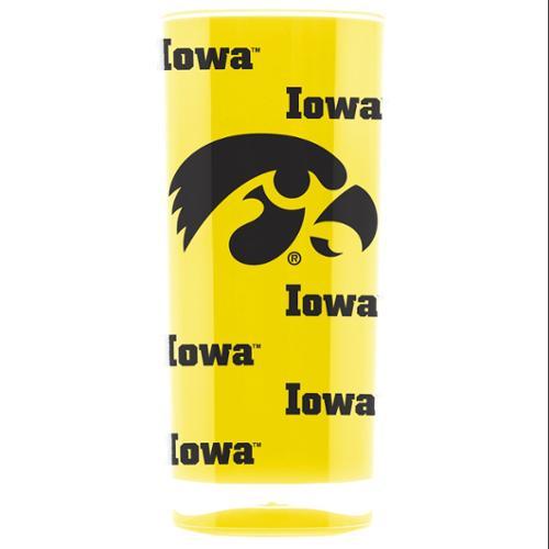 Iowa Hawkeyes Tumbler - Square Insulated (16oz)
